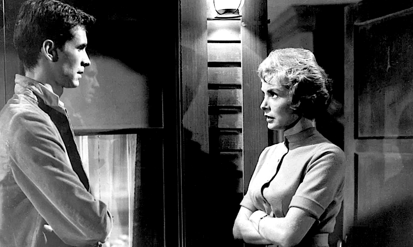Psycho Anthony Perkins and Janet Leigh