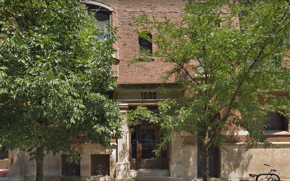 1000 Dakin St. in Chicago, Illinois, Cliff Edwards