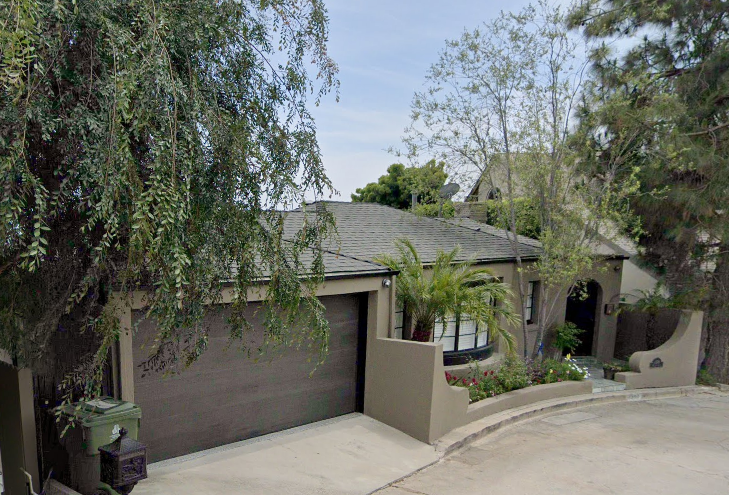 1394 Miller Dr., Los Angeles, California, Cliff Edwards
