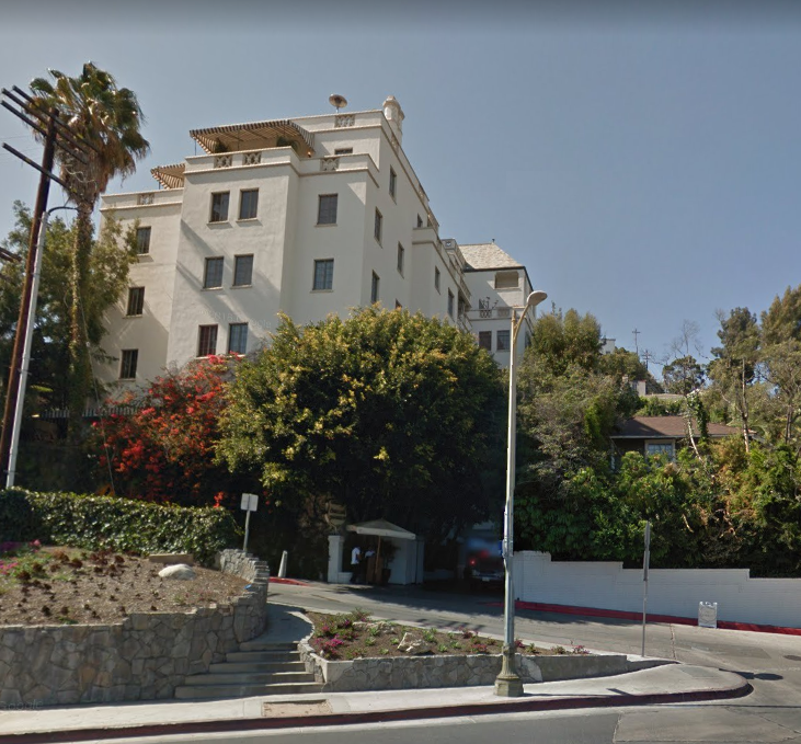 8221 Sunset Boulevard in West Hollywood, Cliff Edwards