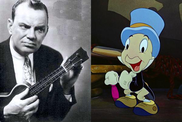 Cliff Edwards Jiminy Cricket Pinocchio (1940)