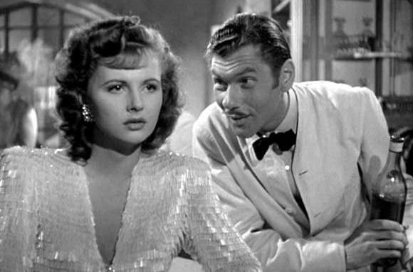 French actress Madeleine Lebeau Russian costar Leonid Kinskey casablanca (1942)