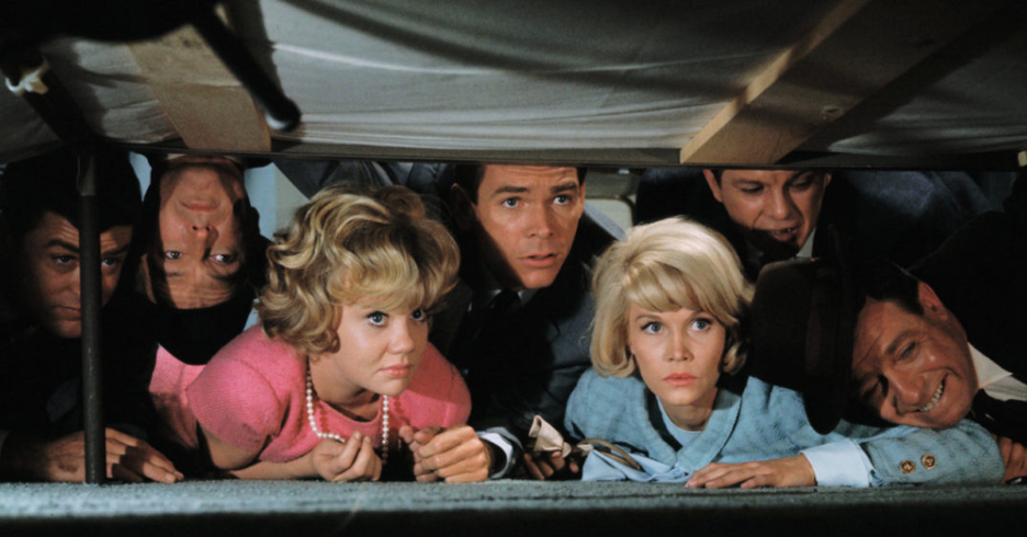 Hayley Mills, Dean Jones, Dorothy Provine and Liam Sullivan in That Darn Cat! (1965)