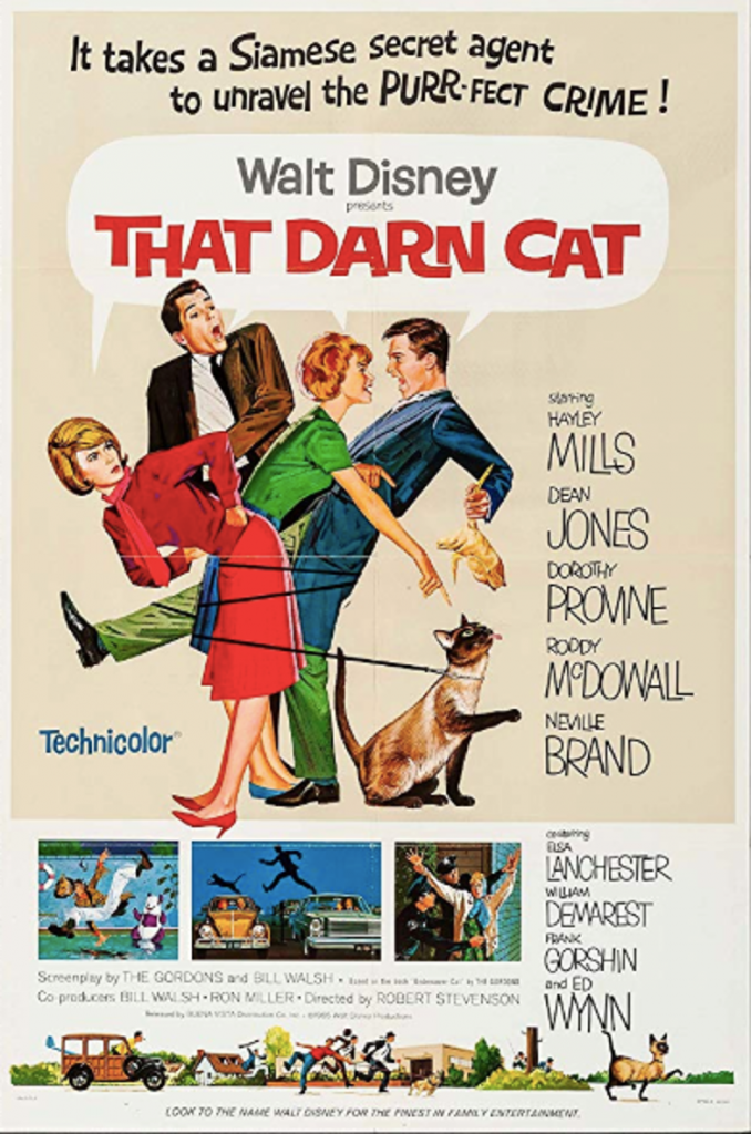That Darn Cat! (1965) Movie Poster