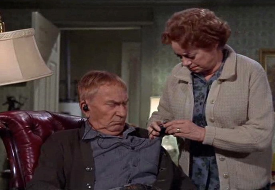 William Demarest and Elsa Lanchester in That Darn Cat! (1965)