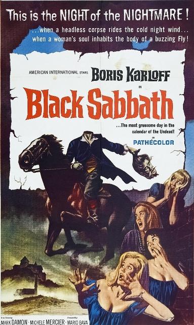 Black Sabbath (1963) Movie Poster