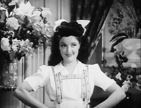 Dorothy Dare in The Yanks are Coming (1942)