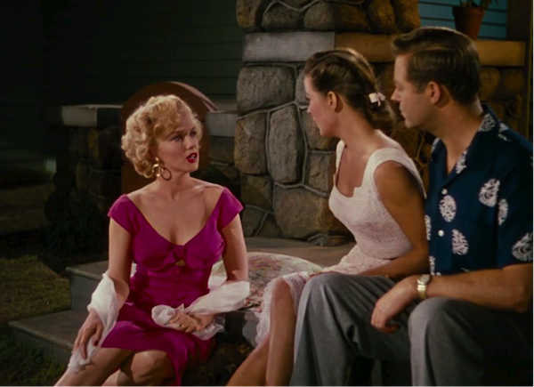 Marilyn Monroe, Jean Peters, Max Showalter, Niagara