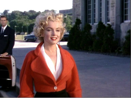Marilyn Monroe, Niagara, red jacket