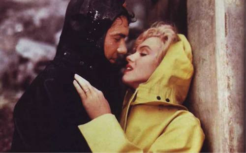 Richard Allan and Marilyn Monroe, Niagara