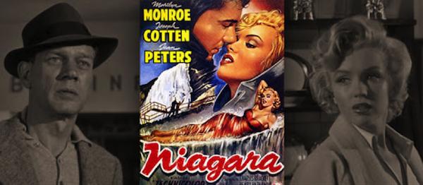 Niagara, Joseph Cotten, Marilyn Monroe