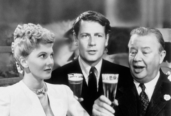 Jean Arthur, Joel McCrea, and Charles Coburn in The More the Merrier (1943)