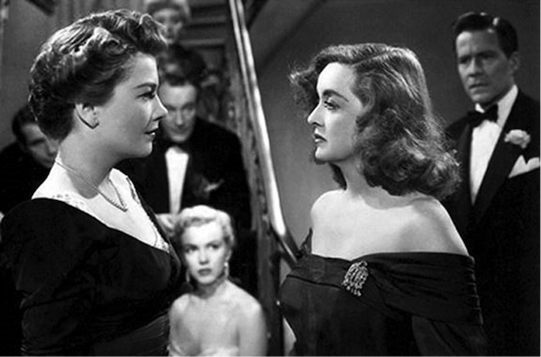 Anne Baxter Bette Davis All About Eve