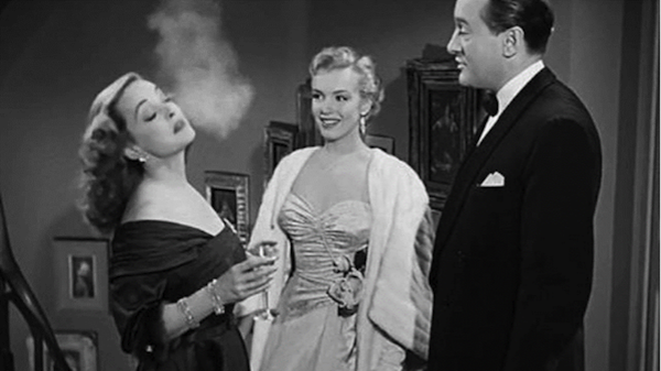 Bette Davis, Marilyn Monroe, George Sanders All About Eve