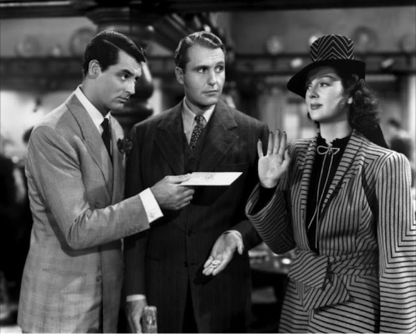 Cary Grant Ralph Bellamy Rosalind Russel His Girl Friday