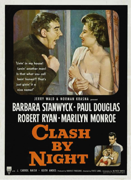 Clash by Night movie poster