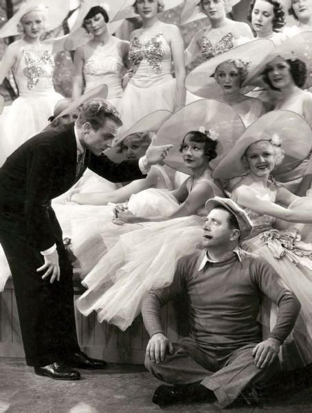 Frank and Cagney in Footlight Parade (1933)
