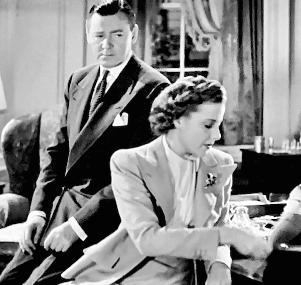 Herbert Marshall Laraine Day Foreign Correspondent It's true then, what I wouldn't believe.