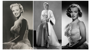 Marilyn Monroe All About Eve collage