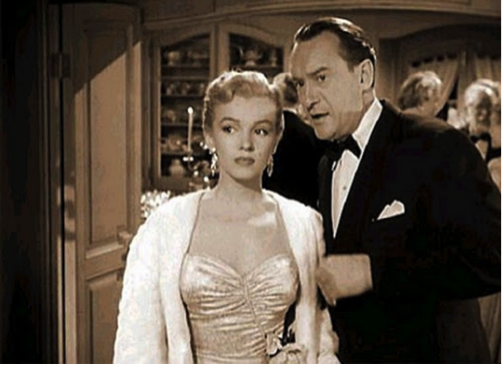 Marilyn Monroe George Sanders All About Eve 2