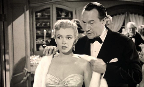 Marilyn Monroe George Sanders All About Eve 3