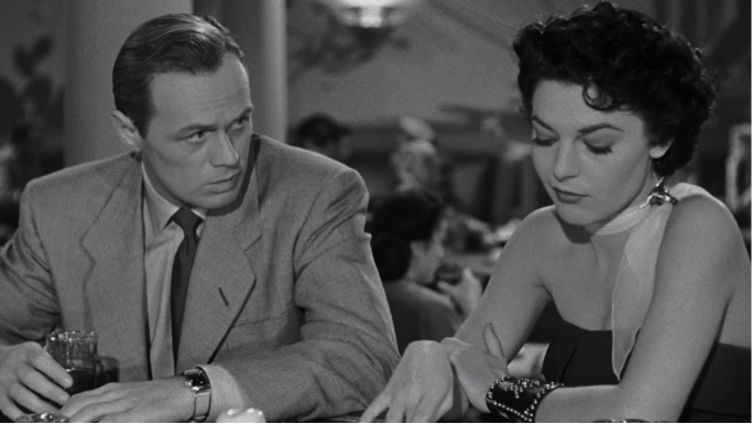 Richard Widmark Anne Bancroft don't bother to knock
