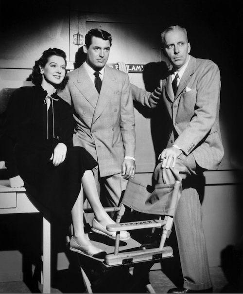Rosalind Russell Cary Grant and Howard Hawks His Girl Friday