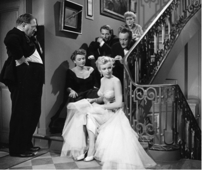 Stairway scene All About Eve