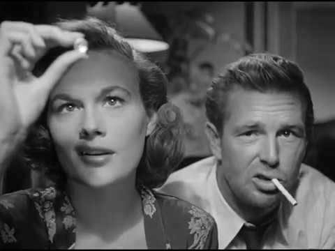 Sterling Hayden and Jean Hagen in The Asphalt Jungle (1950)