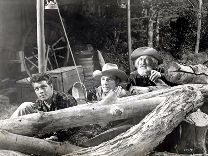The Cariboo Trail (1950) Dale Robertson, Randolph Scott, Gabby Hays