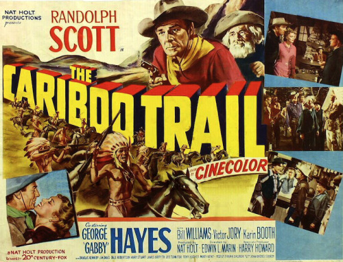 The Cariboo Trail (1950) movie poster