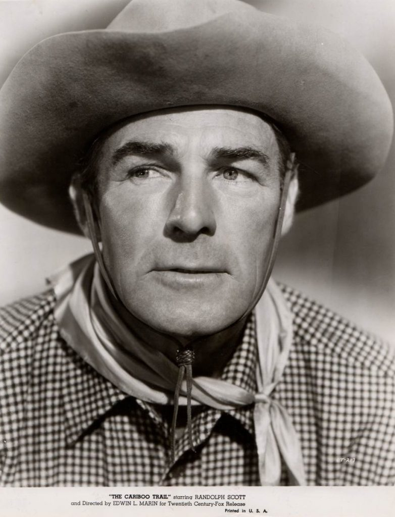 Randolph Scott in The Cariboo Trail (1950)