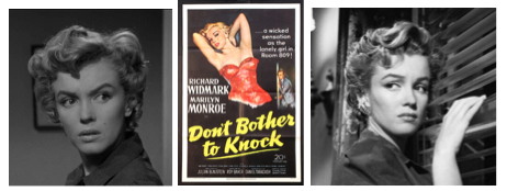marilyn monroe don't bother to knock collage