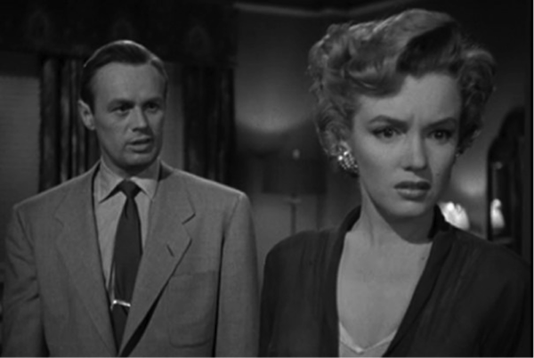 Richard Widmark Marilyn Monroe don't bother to knock
