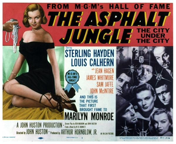 the asphalt jungle movie poster 2
