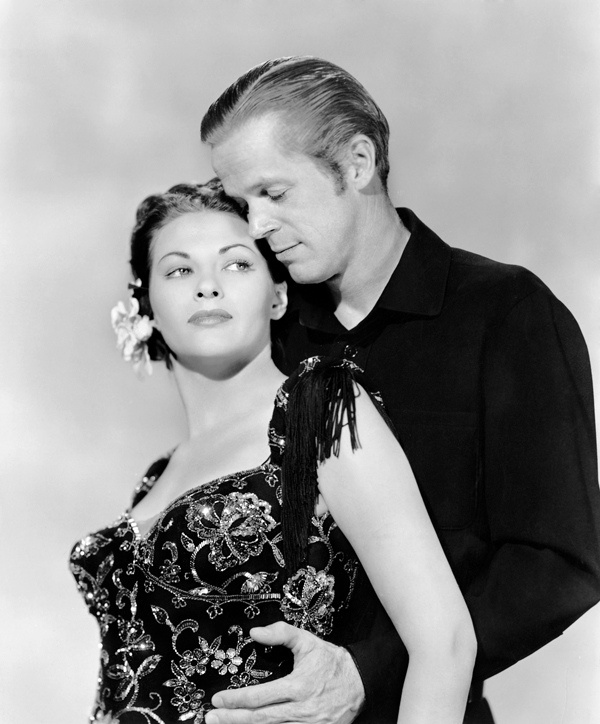 Black Bart (1948) Dan Duryea and Yvonne De Carlo