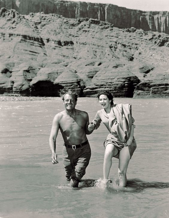 Border River (1954) Joel McCrea and Yvonne De Carlo