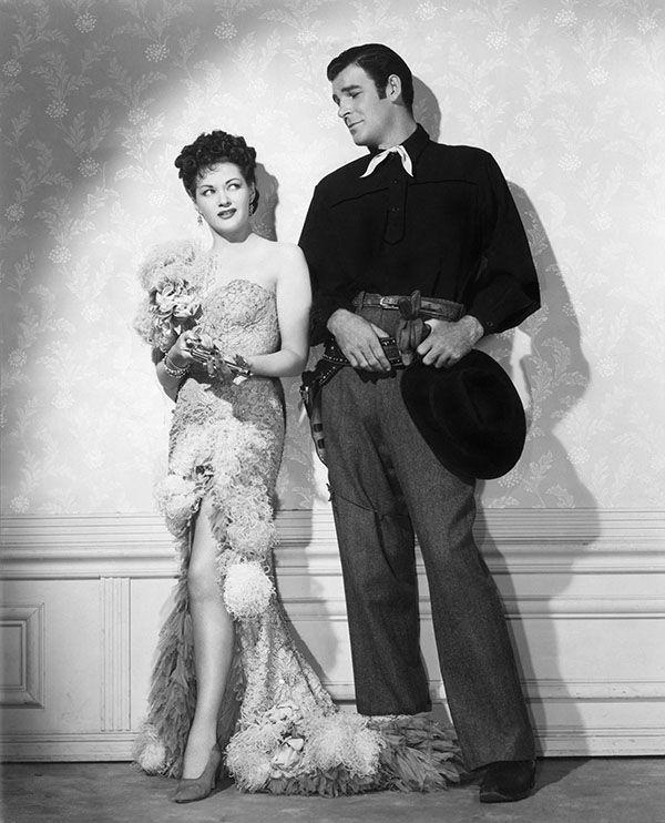 Frontier Gal (1945) Yvonne De Carlo and Rod Cameron