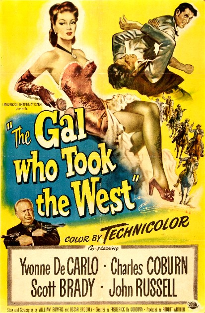 The Gal Who Took the West (1949) movie poster