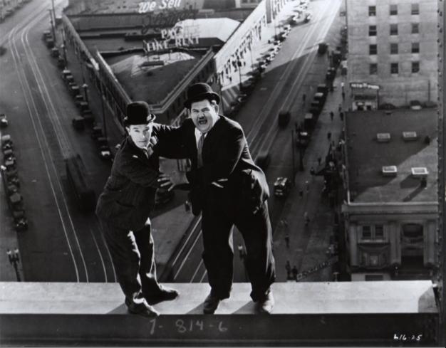 Liberty (1929) Laurel & Hardy