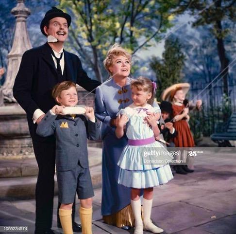 Mary Poppins (1964) Davd Tomlinson, Glynis Johns, Matthew Garber, Karen Dotrice