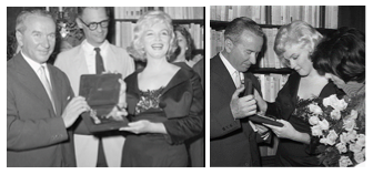 arthur miller marilyn monroe prince and the showgirl awards montage