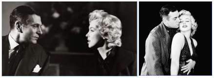 laurence olivier marilyn monroe prince and the showgirl montage 2