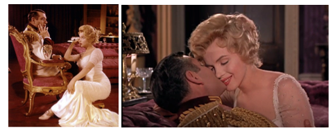 laurence olivier marilyn monroe prince and the showgirl montage 3