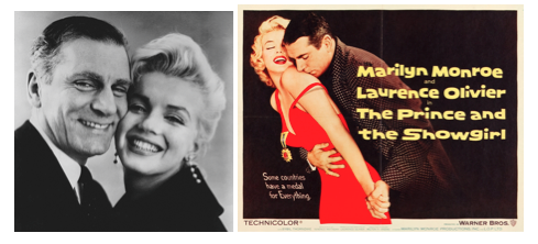 laurence olivier marilyn monroe prince and the showgirl montage