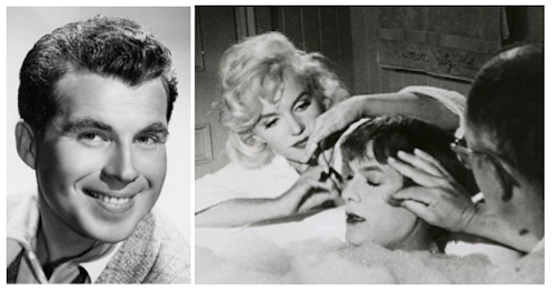 paul frees, marilyn monroe, tony curtis, some like it hot