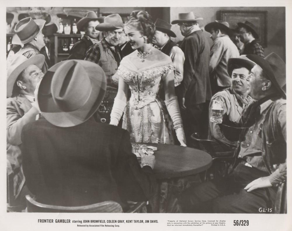 Coleen Gray in Frontier Gambler (1956)
