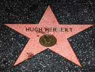 Hugh Herbert Walk of Fame Star