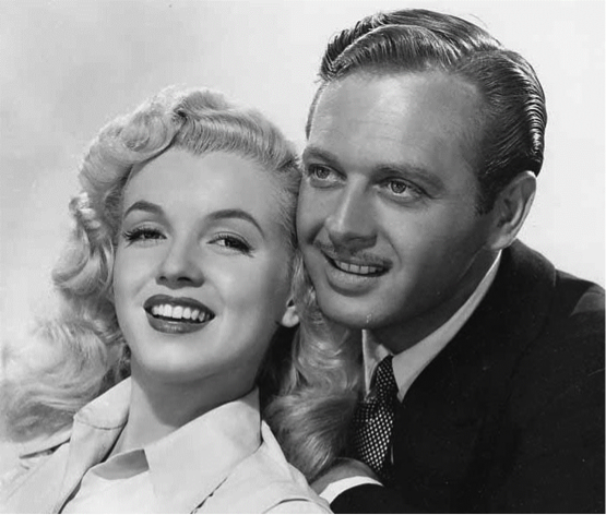 Marilyn Monroe and Rand Brooks in Ladies of the Chorus (1948)