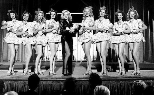 Marilyn Monroe ladies of the chorus 1